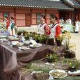 宮廷料理祭りの風景